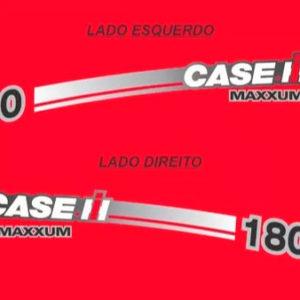 Adesivo Trator Case 180 Maxxum